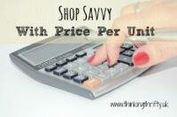 Shop savvy