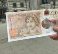 The new ten pound note went into circulation today, hooray!